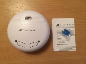 VisorTech-Funkrauchmelder-Testbericht